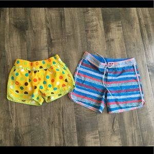 Girls Roxy board shorts bundle size L and XL